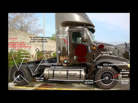 NY CDL INSPECTION NEW YORK STATE