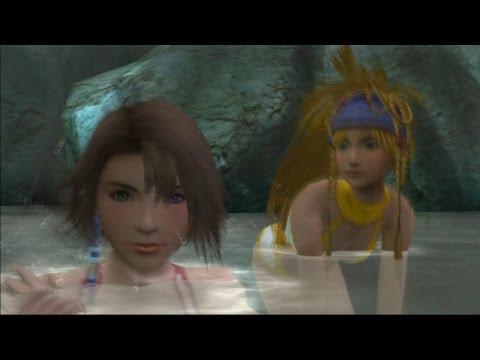 Final Fantasy X-2 HD Remaster - Mt. Gagazet Hot Springs (Chapter 2 Secret Scene)