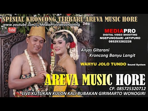 KRONCONG BANYU LANGIT COVER ANJAS GITARANI / AREVA MUSIC HORE / MEDIAPRO VIDEO