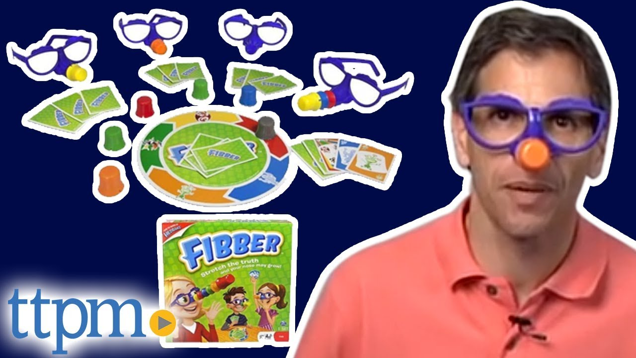 Fibber Board Game from Spin Master
