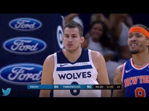 Nemanja Bjelica'nın 10 sayılık New York Knicks maçı performansı
