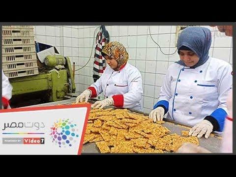-دوت مصر- داخل أقدم مصنع لإنتاج حلوى المولد بالإسكندرية  - نشر قبل 24 ساعة