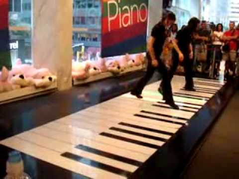 Bach Floor Piano Youtube
