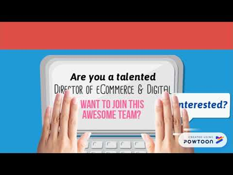 Recruiting: Director of eCommerce & Digital