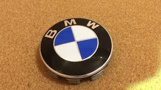 Колпачки-заглушки для литых дисков BMW