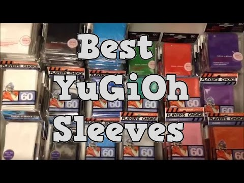 """""""THE BEST SLEEVES"""" Reviewing Types of Sleeves(intch95) Yu-Gi-Oh!"""