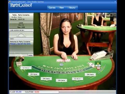 Party casino live blackjack mobile casino registration