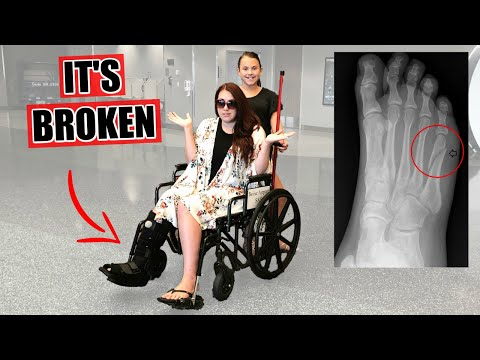 Going To The EMERGENCY ROOM | She Broke Her Foot!