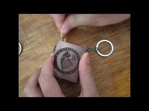 Game Of Thrones Music Box Keychain