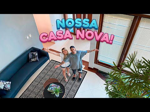 DECIDIMOS NOSSA CASA NOVA!!
