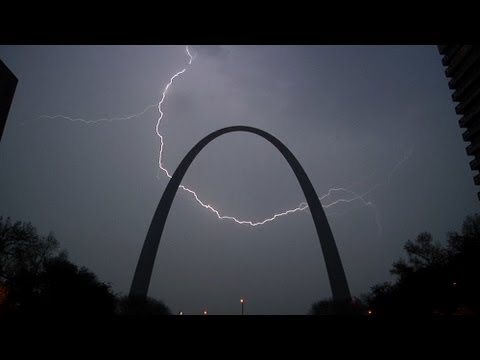 Storms At The Gateway Arch