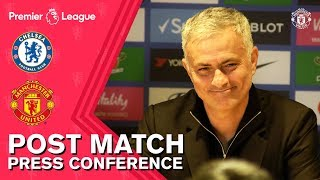 Jose Mourinho Post Match Press Conference | Chelsea 2-2 Manchester United