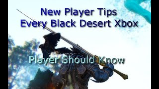 New Player Tips Every Xbox Black Desert Player Should Know!