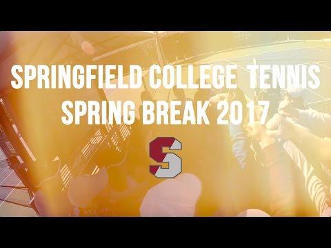 Springfield College Tennis - Spring Break 2017