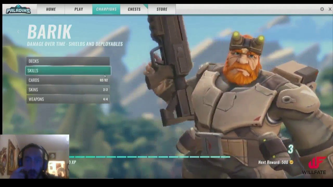 youtube paladins how to get tf2 skin barrack