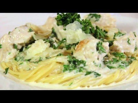 Creamy Alfredo Sauce with Shiitake Mushrooms - Everyday Food with ...