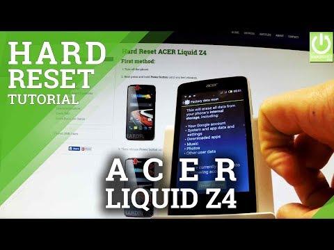 Mobile Info: Samsung Z4 Reset