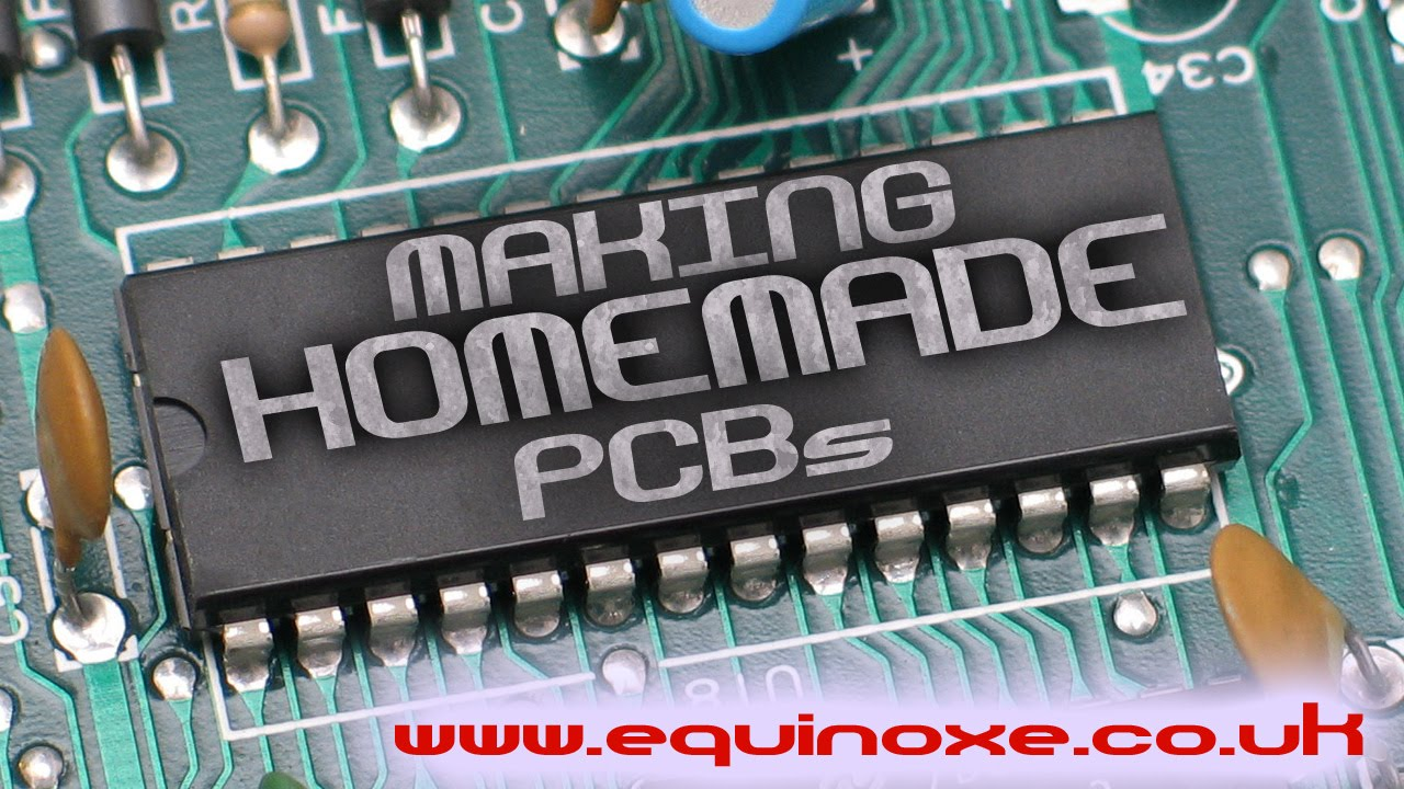 Making Home Made Printed Circuit Boards Youtube Board Pcb Fabricate In China Buy