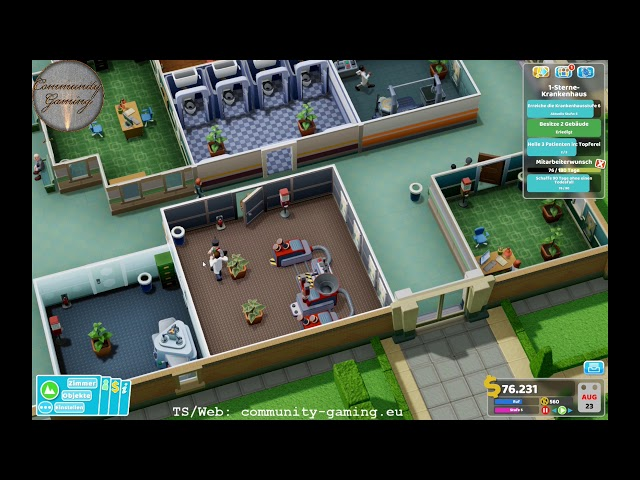 Rekord-Aufstieg | Folge #005 | Let's Play Two Point Hospital