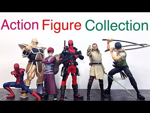 My Action Figure Collection Action Figure Display Update Video #14