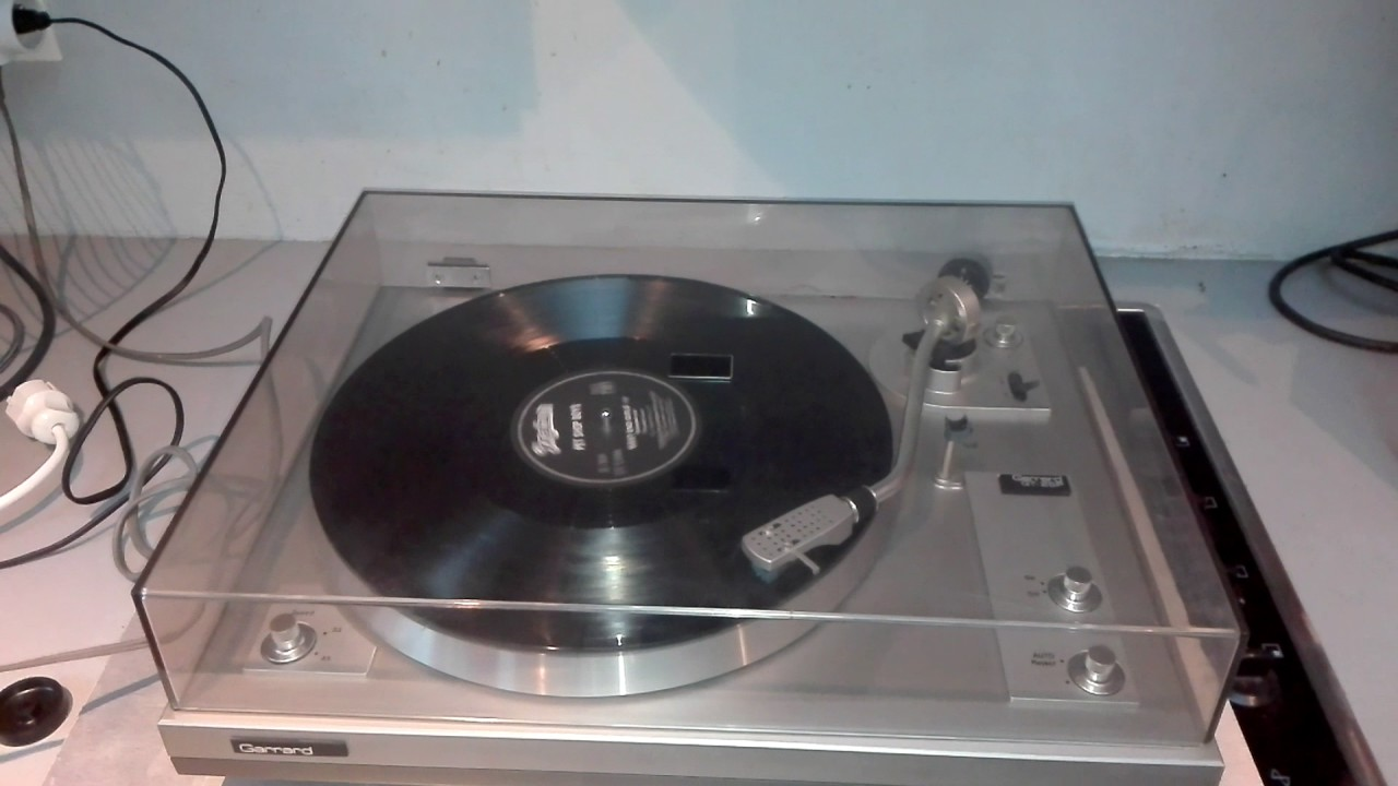 platine vinyle garrard gt 25p turntable vintage youtube. Black Bedroom Furniture Sets. Home Design Ideas