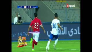 شاهد.. صالح جمعة يضيف هدفا عالميا للأهلى بمرمى سموحة
