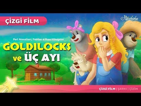 Goldilocks ve Üç Ayı çizgi film masal 31 - Adisebaba Çizgi Film Masallar
