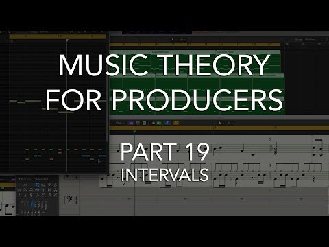 Music Theory for Producers #19 - INTERVALS