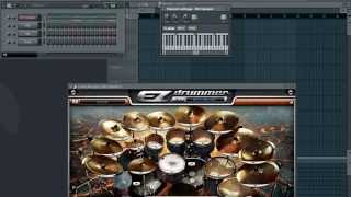 EZ Drummer Multi-tracking in Fruity Loops Studio