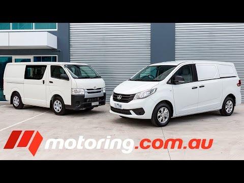 2015 LDV G10 v Toyota HiAce Comparison