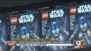 Price frustration over new Star Wars toys