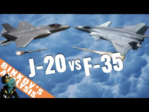 Is Chinese J-20 A Better Stealth Fighter Than F-35?