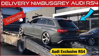 Delivery Audi RS4 Audi Exclusief, Bmw M4 and A Audi Q7 S-Line