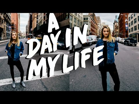 A DAY IN MY LIFE IN NEW YORK CITY! Michelle Reed