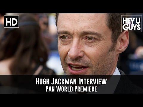 Hugh Jackman Interview - Pan World Premiere