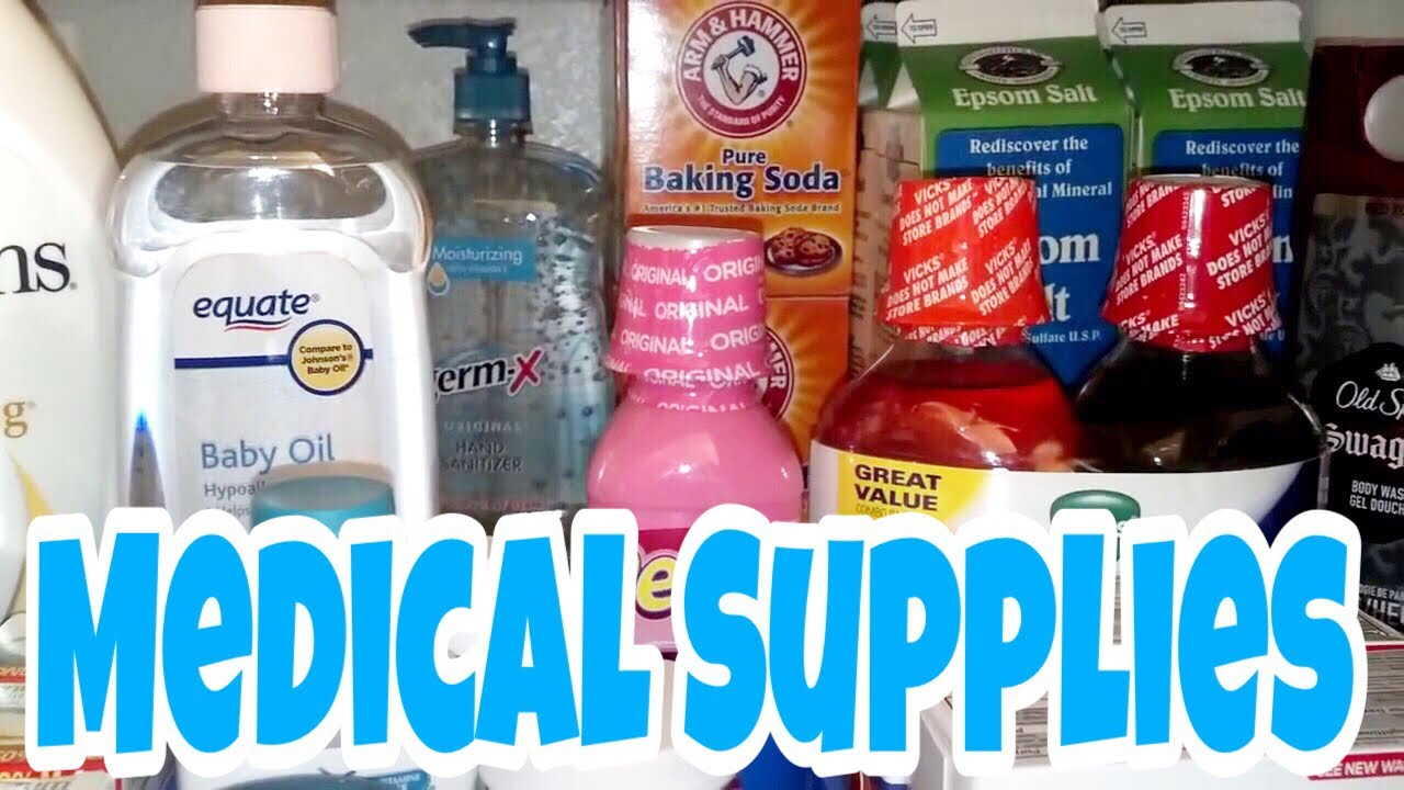 SHTF! PREPPERS MEDICAL SUPPLIES: At Home - Part 1