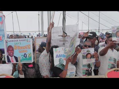 PatrioticSupporters Storms APC Secretariat, Declares Support For Ambode's second term bid