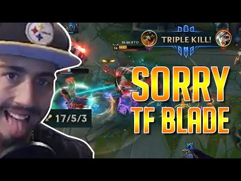 Sorry TF Blade, This is MY Jungle now!  | RTO vs Akali Top | High Elo!