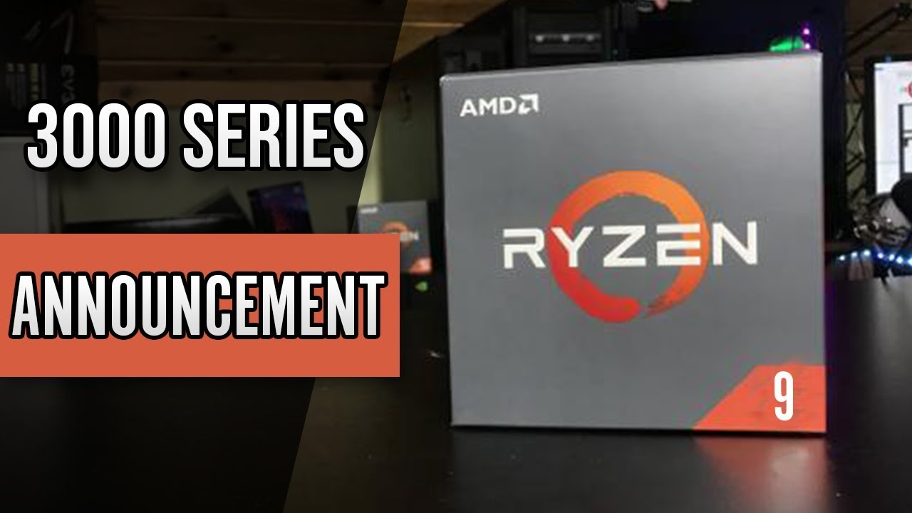 4 5GHz on Ryzen 3000 Series??? Navi Release Date??? | New AMD Ryzen 3000  series leaks