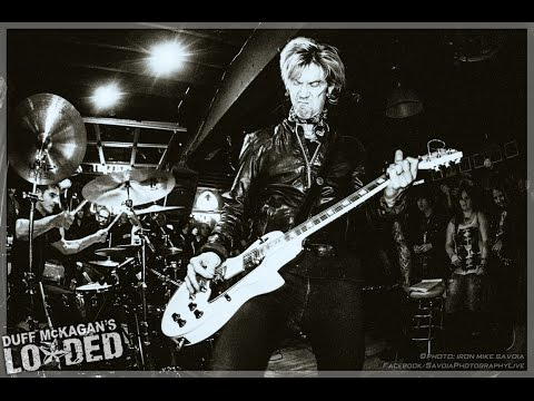 Duff McKagan's Loaded – Attitude/Word Up mash w/ Wanz – It's So Easy – Slims – Seattle 3.3.15