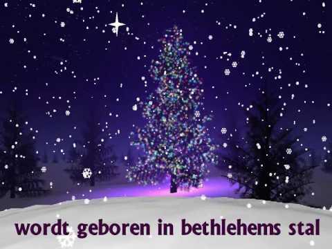 """♪ Kerstliedje: """"Stille nacht"""" met tekst!"""