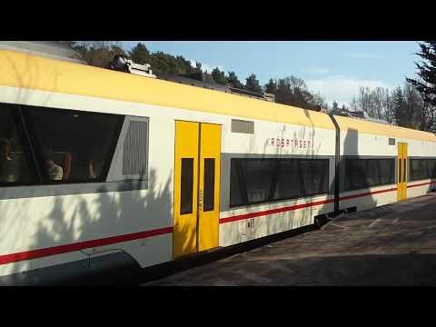 Y32 DSB Småland/Krösatåget lämnar Oskarström