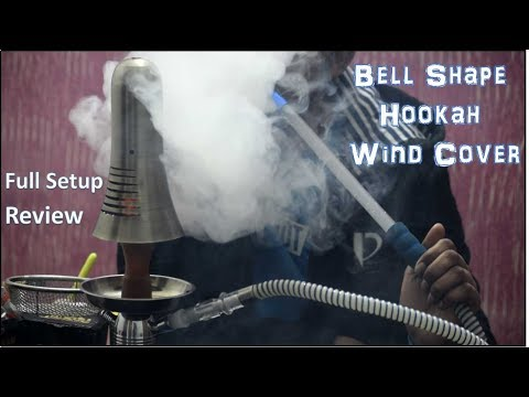 Bell Shape Hookah Wind Cover | For Dense Smoke | Cheap Hookah Accessories Under 300 | Delhi Mumbai