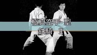 極真空手の型「鉄騎Ⅱ」です。 KyokushinKata Tekki2.