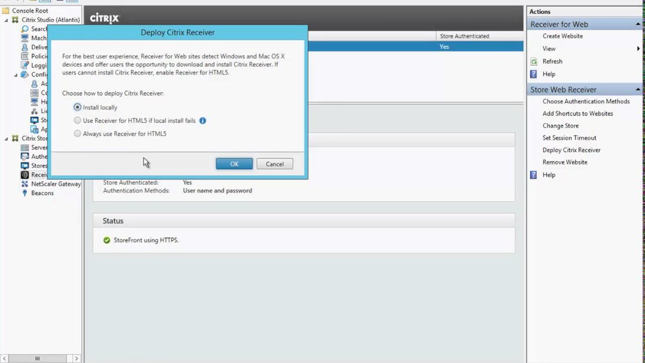 004 Citrix Receiver for HTML5
