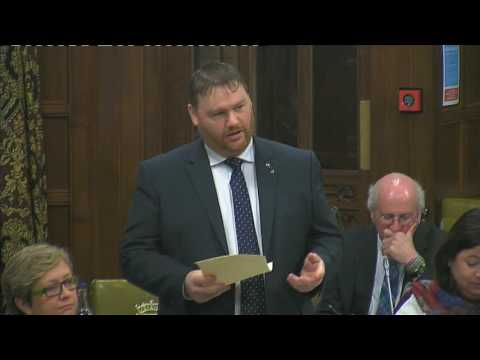 "Owen Thompson MP - Westminster Hall debate on ""A Better Defence Estate"" strategy, 21 February 2017"