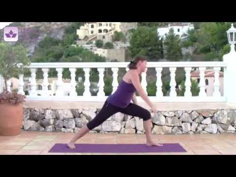 Yoga Sonnengruß B mit Diana-Yoga