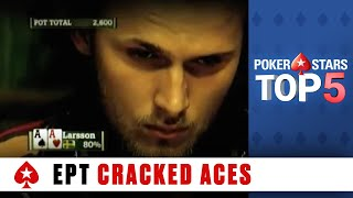 Top 5 Poker Moments - EPT Season 5: Aces Cracked | PokerStars.com