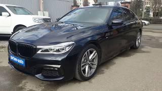 BMW 7 серия VI (G11/G12)/2017г./2.0 AT (249 л.c.)/ 23 000 км