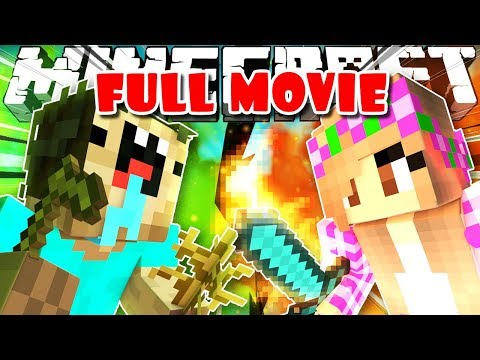 Thumbnail: SUPER NOOB vs GIRL (Minecraft Mini Movie)